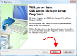Onlineshop Schnittstelle Download und Installation