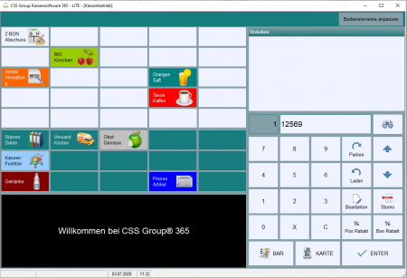 CSS Group Kassensoftware 365 Standard