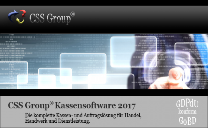 UPGRADE CSS Group® Kassensoftware 2017 R2 Kassenmodul